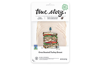 Non-GMO Oven Roasted Turkey Breast Packaging