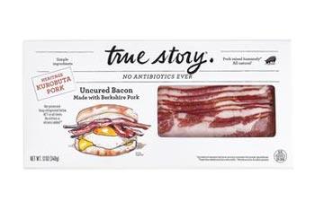 Kurobuta Uncured Bacon Packaging