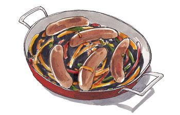 Chili Relleno Kurobuta Pork Sausage
